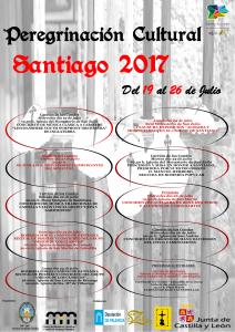 cartel fiestas santiago 2017 -