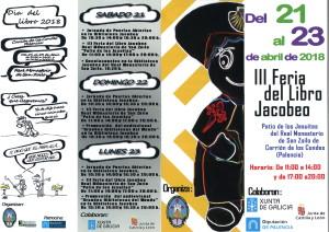 CARTEL DÍA DEL LIBRO Y III FERIA DEL LIBRO JACOBEO